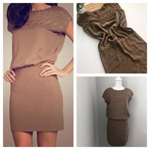 Vince Camuto Blouson Dress Skirt stretch Size S